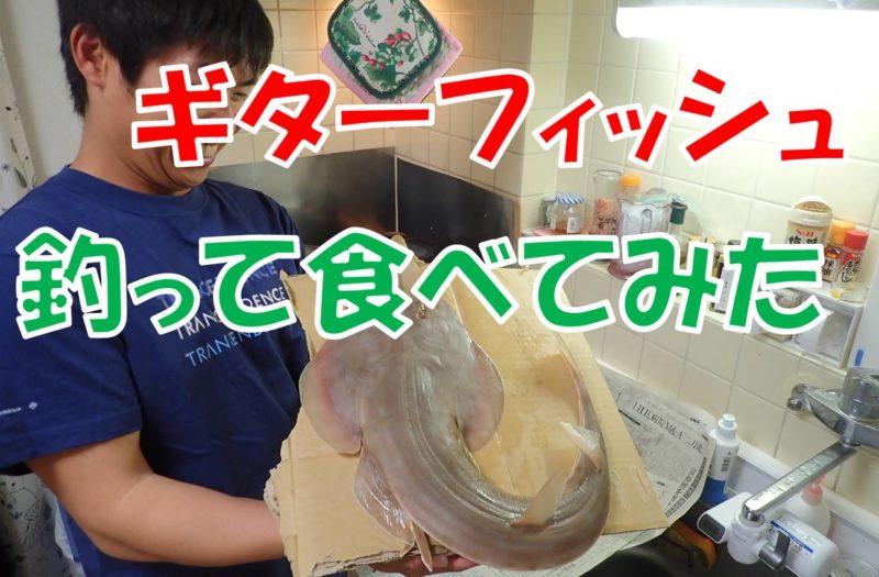"""【幻の食材】異なる2層の身質を持つ魅惑の美味魚""""サカタザメ"""""""